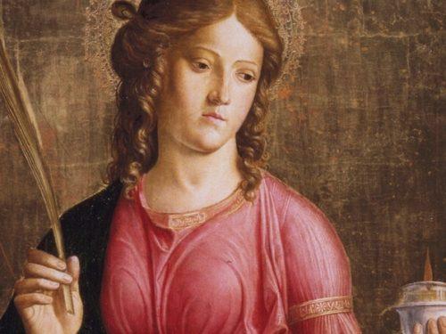 """La leggenda della """"Santuzza"""" Lucia  protettrice della vista e patrona della città di Siracusa"""