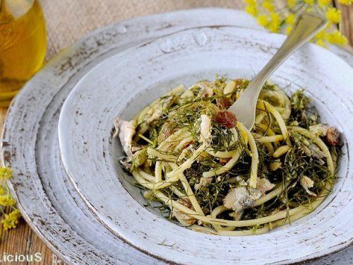 La pasta con le sarde, RICETTA di uno dei primi più amati dai siciliani.
