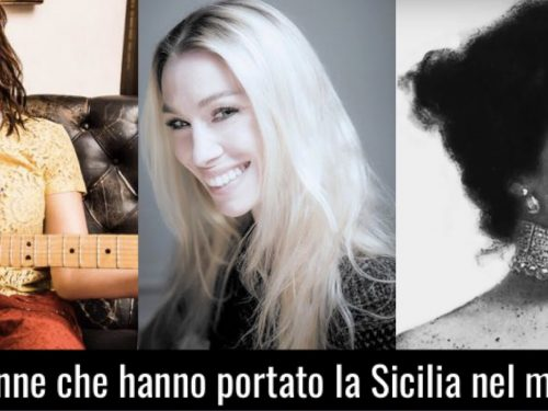 """10 donne che hanno portato la """"Sicilia"""" nel mondo."""