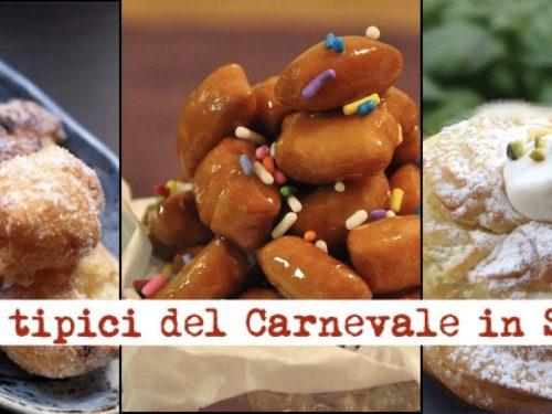 Carnevale in Sicilia, la ricetta  dei 3 dolci tradizionali dell'isola.