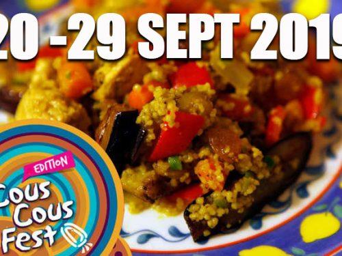 San Vito Lo Capo: dal 20 al 29 settembre 2019 la 22esima edizione del Cous Cous Fest.