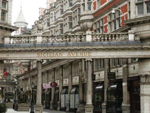 Sicilian Avenue: uno scorcio di Sicilia a Londra.