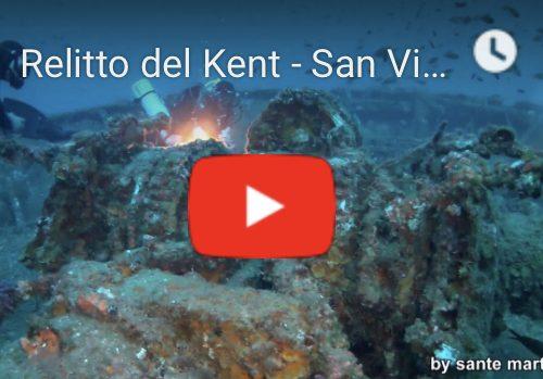 Dai fondali di San Vito lo Capo, le splendide riprese del Relitto del Kent.