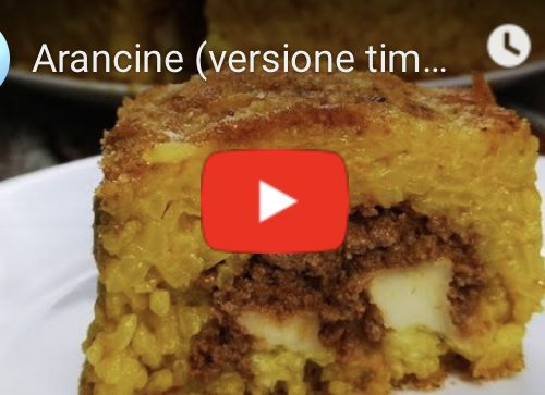 L'Arancino scomposto di Gianfranco Manuguerra: ricetta!