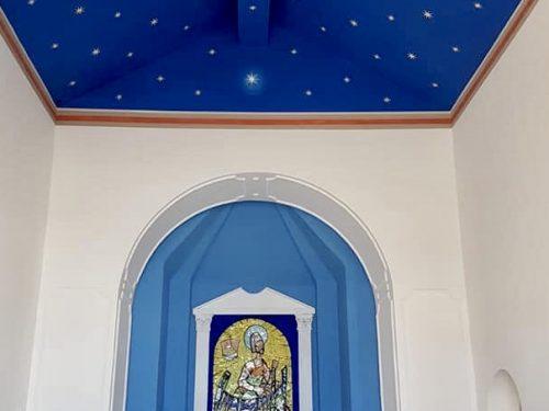 L'associazione Maria SS. di Custonaci ha restaurato la chiesetta di Baia Cornino.