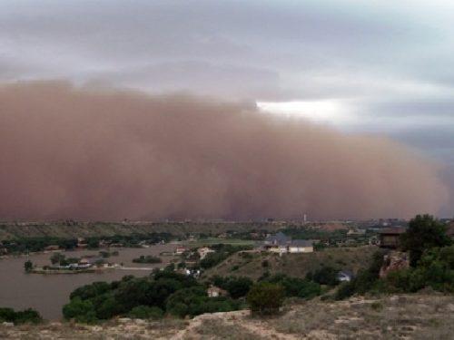 Una 'pioggia di sabbia' sulla Sicilia. È attesa per mercoledì