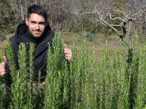 """Un terreno come regalo di laurea: """"Spezie e piante aromatiche sono il mio futuro"""". E resta a Catania"""
