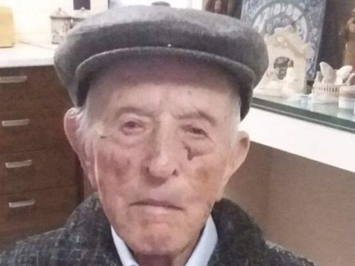 Nonno Antonino Turturici oggi compie 108 anni: è terzo tra i più longevi di Sicilia.