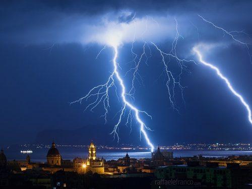 Stop al bel tempo in Sicilia, in arrivo forte vento e temporali già dal pomeriggio di oggi.