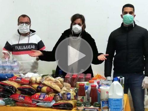 SPESA SOLIDALE, l'iniziativa custonacese che sta commuovendo il web. VIDEO.