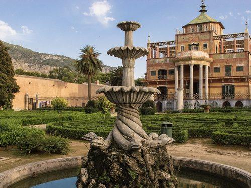 La Palazzina Cinese di Palermo: l'antica dimora reale in stile orientale, nel parco della Favorita.