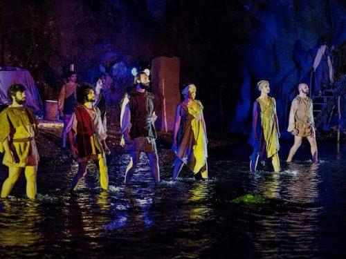 Alle Gole dell'Alcantara tornano in scena l'Odissea e l'Inferno