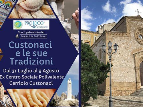 """""""Custonaci e le sue tradizioni"""": 10 serate per promuovere artigianato ed enogastronomia locale"""