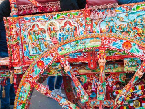Il carretto siciliano: da semplice mezzo di trasporto a opera d'arte emblema della sicilianità