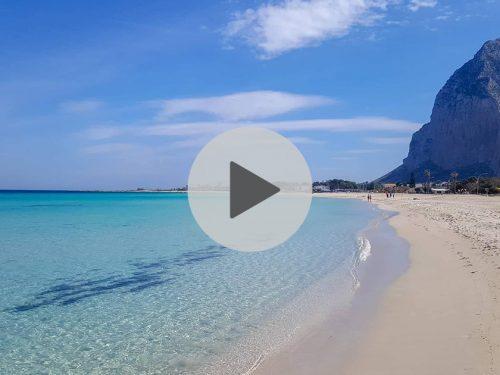 Immagini spettacolari che incantano! Il mare di San Vito Lo Capo visto dal drone di Vito La Sala