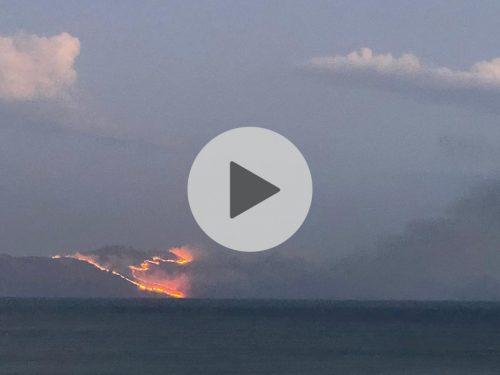 Inferno di fuoco tra Scopello e lo Zingaro. Devastato uno dei territori più belli della Sicilia