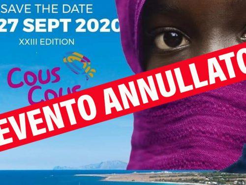 """Coronavirus: annullato a San Vito Lo Capo il """"Cous Cous Fest"""""""