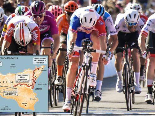 Il Giro d'Italia parte dalla Sicilia: la Corsa Rosa mostrerà al mondo tutta la bellezza dell'isola