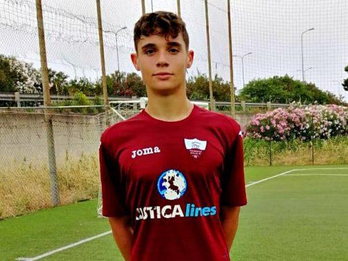 Girolamo Mazzara, giovane talento custonacese, approda in serie A con il Benevento Calcio