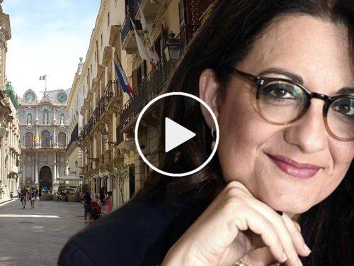"""Trapani """"Capitale Italiana della Cultura 2022"""": Catena Fiorello elogia la città e la sua gente"""