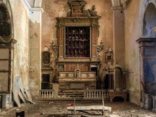 La chiesa dell'Epifania a Trapani: uno scrigno d'arte abbandonato che rischia di scomparire