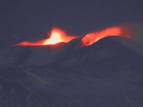 L'Etna fa paura: sciame sismico intorno a Catania. 11 scosse in 2 ore, la più forte di magnitudo 3.8