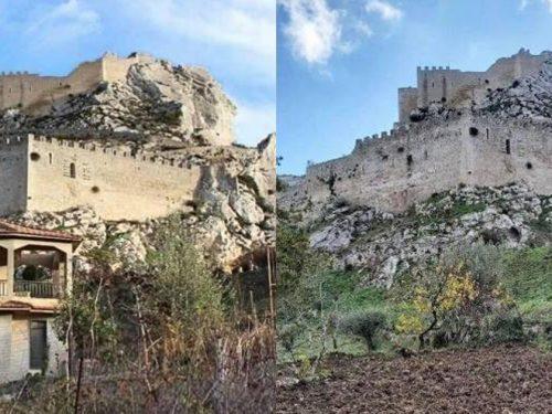 Compra il terreno davanti al Castello di Mussomeli per demolire l'ecomostro che rovinava la veduta