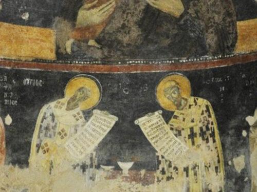 Restaurati gli affreschi bizantini del XII secolo d.C. di San Marco d'Alunzio