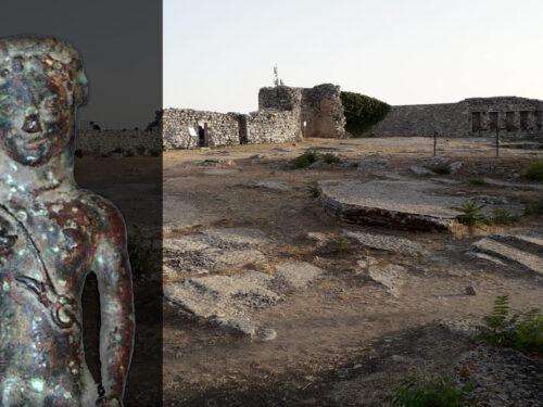 Venus Erycina Ridens: la statuetta in bronzo  risalente al 550 a.C. ritrovata nel santuario ericino